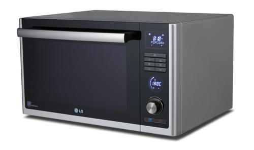 LG Lightwave Convection and Grill Silver